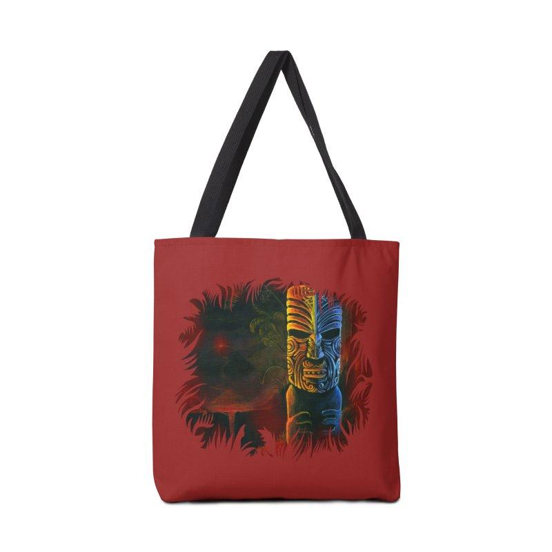 Lava Falls - Maori Tiki Accessories Bag by Zerostreet's Artist Shop