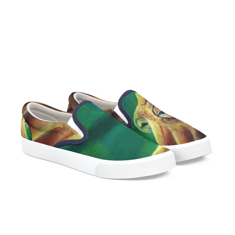 The Collector - Octopus Women's Slip-On Shoes by Zero Street's Artist Shop