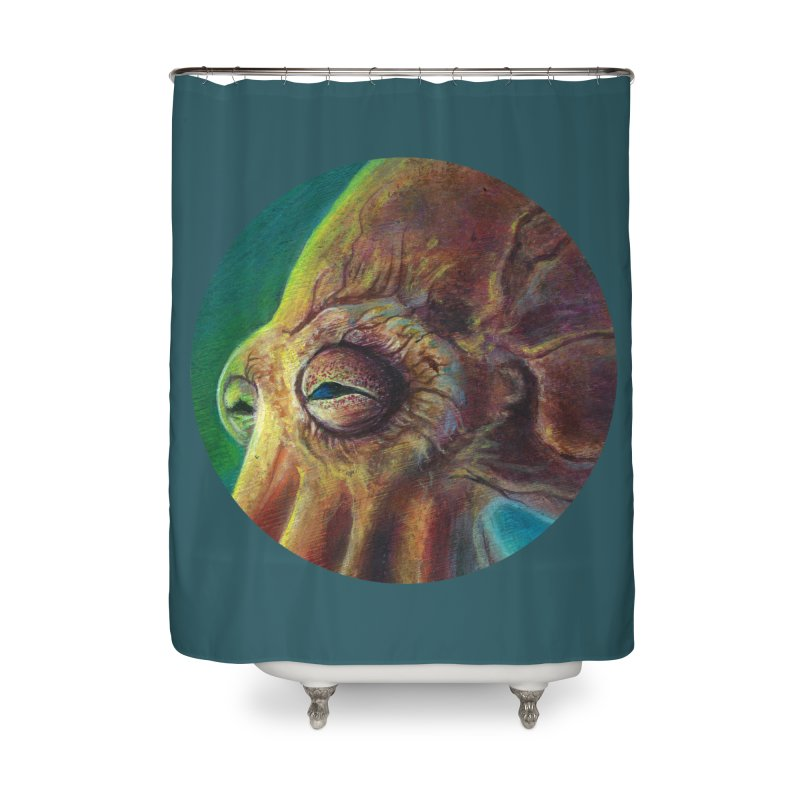 The Collector - Octopus Home Shower Curtain by Zerostreet's Artist Shop