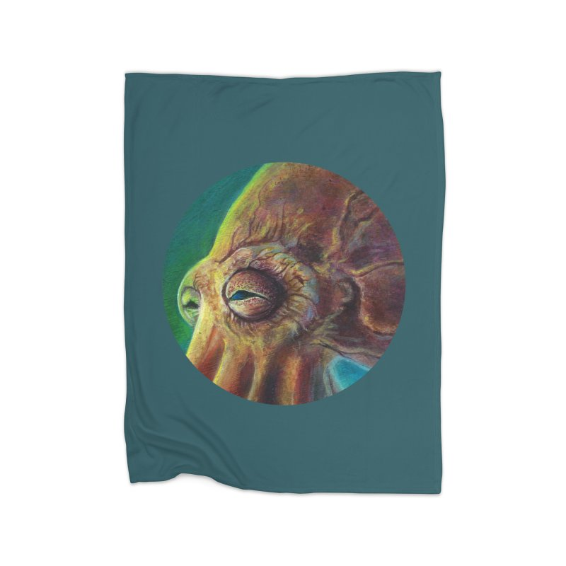 The Collector - Octopus Home Blanket by Zerostreet's Artist Shop