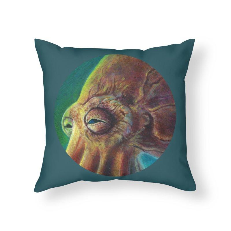 The Collector - Octopus Home Throw Pillow by Zerostreet's Artist Shop