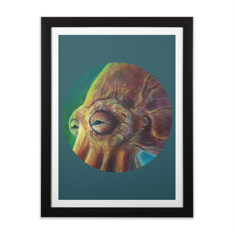 The Collector - Octopus Home Framed Fine Art Print by Zerostreet's Artist Shop