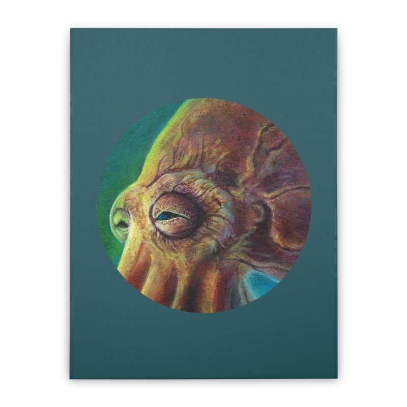 The Collector - Octopus Home Stretched Canvas by Zerostreet's Artist Shop