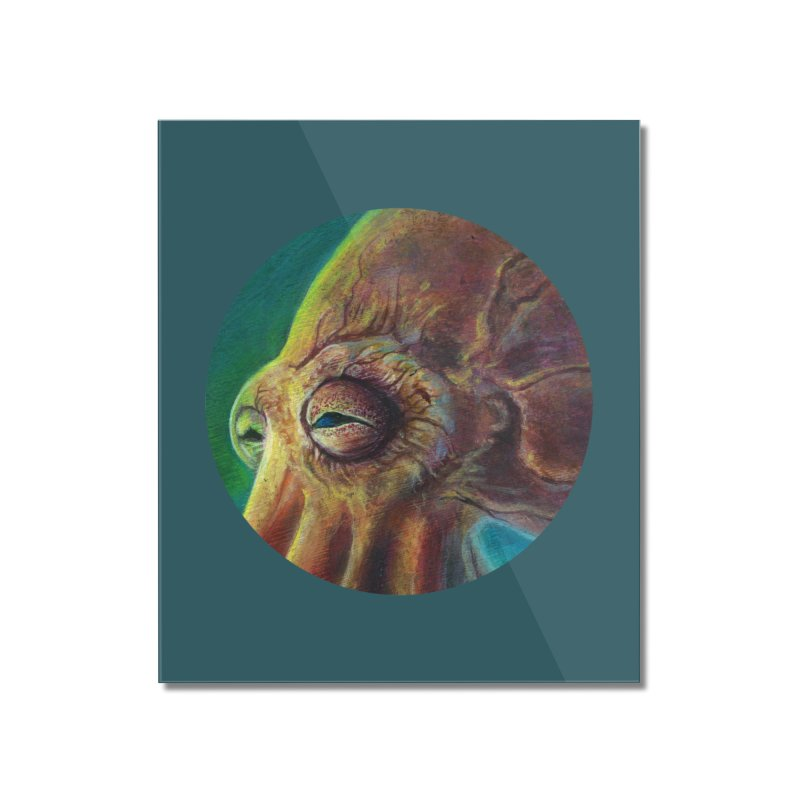 The Collector - Octopus Home Mounted Acrylic Print by Zerostreet's Artist Shop