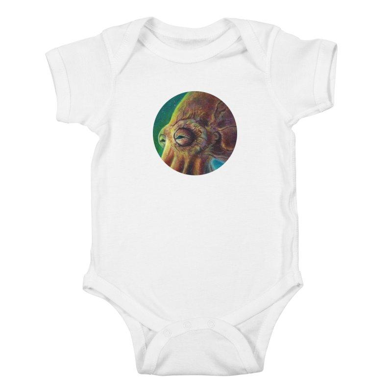 The Collector - Octopus Kids Baby Bodysuit by Zerostreet's Artist Shop