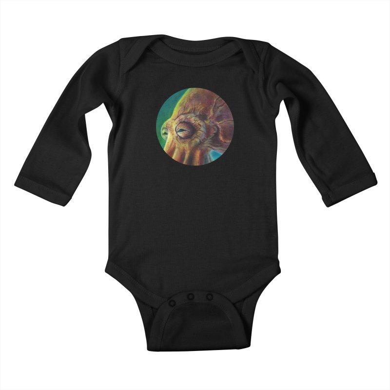 The Collector - Octopus Kids Baby Longsleeve Bodysuit by Zerostreet's Artist Shop