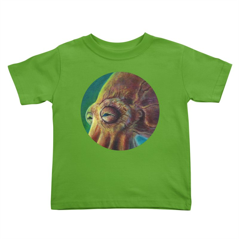 The Collector - Octopus Kids Toddler T-Shirt by Zerostreet's Artist Shop