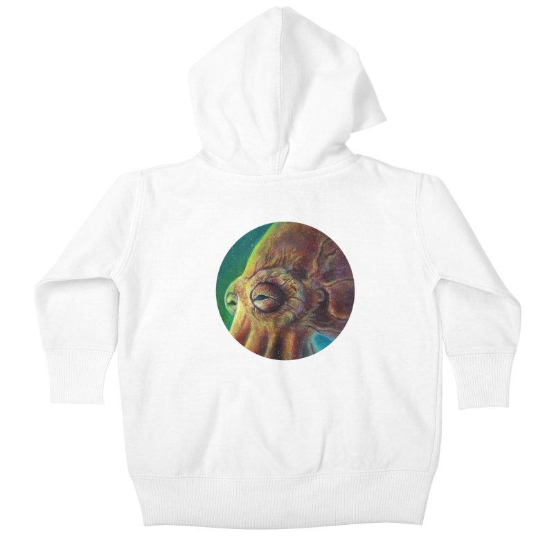 The Collector - Octopus Kids Baby Zip-Up Hoody by Zerostreet's Artist Shop