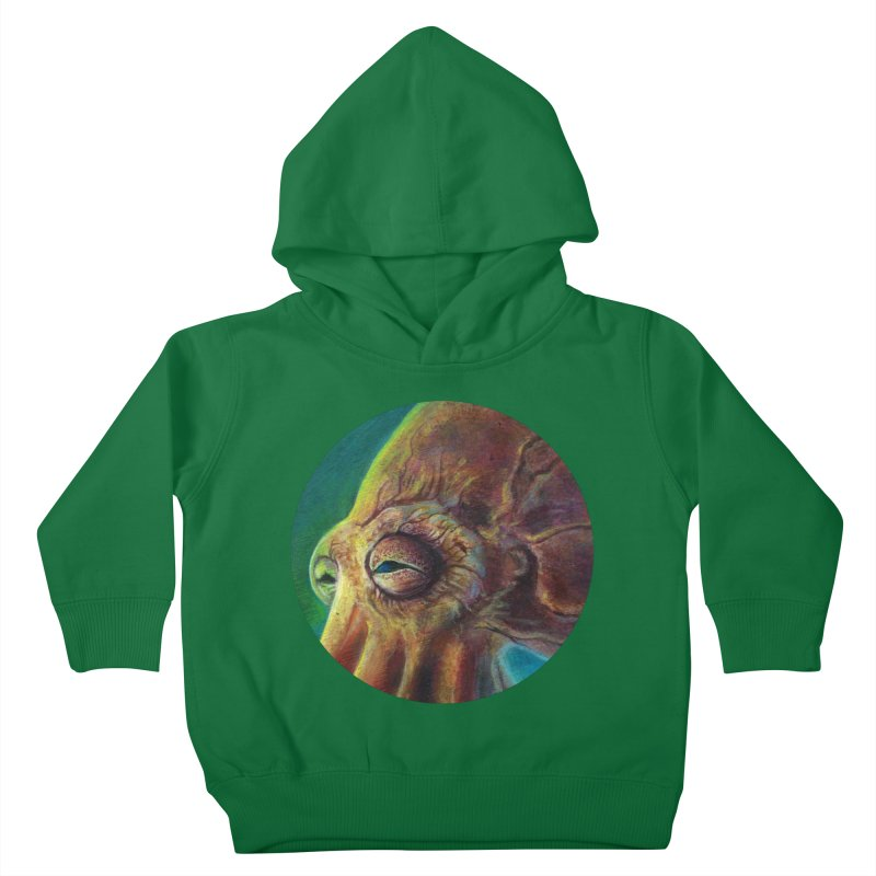 The Collector - Octopus Kids Toddler Pullover Hoody by Zerostreet's Artist Shop