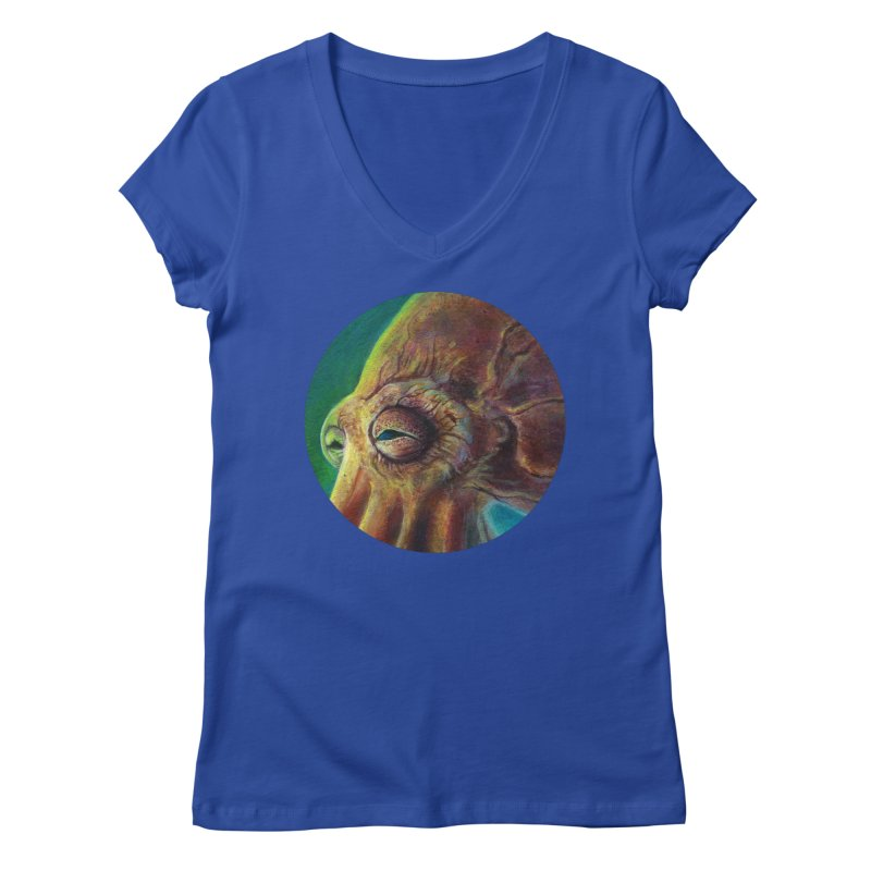 The Collector - Octopus Women's Regular V-Neck by Zerostreet's Artist Shop