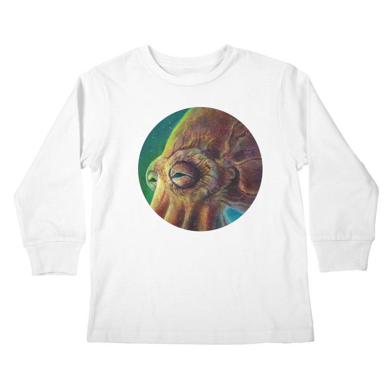 The Collector - Octopus Kids Longsleeve T-Shirt by Zerostreet's Artist Shop