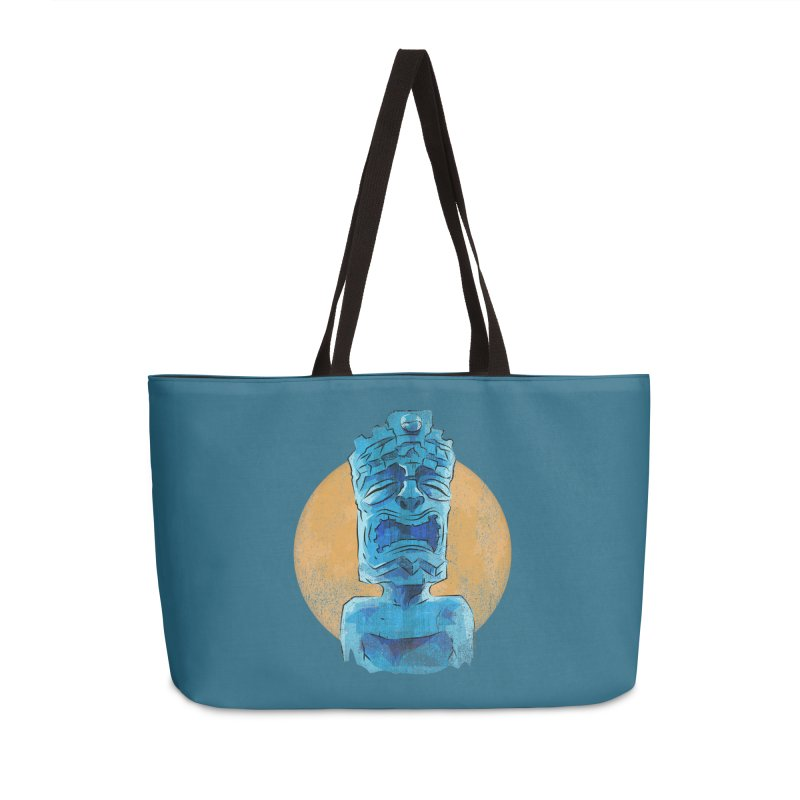 Luna Tiki Accessories Weekender Bag Bag by Zero Street's Artist Shop