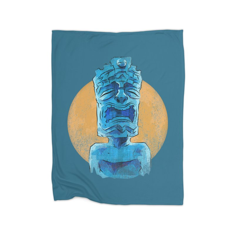 Luna Tiki Home Blanket by Zerostreet's Artist Shop