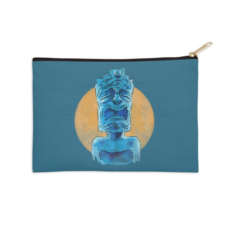 Luna Tiki Accessories Zip Pouch by Zerostreet's Artist Shop
