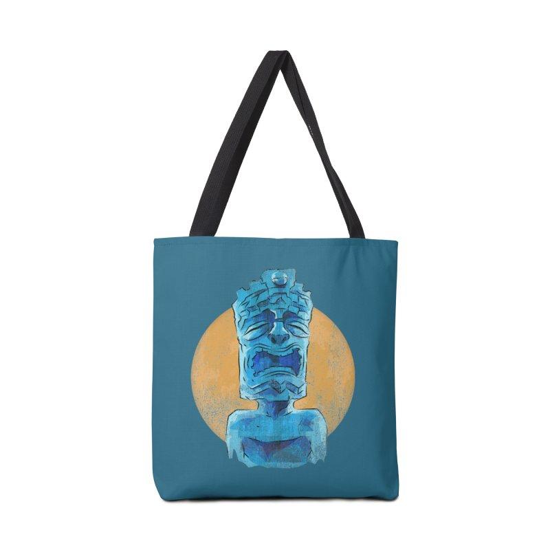 Luna Tiki Accessories Bag by Zerostreet's Artist Shop