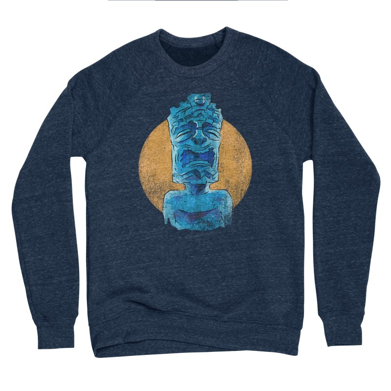 Luna Tiki Men's Sponge Fleece Sweatshirt by Zero Street's Artist Shop