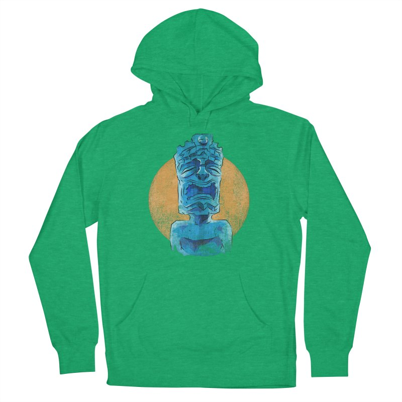 Luna Tiki Women's French Terry Pullover Hoody by Zerostreet's Artist Shop