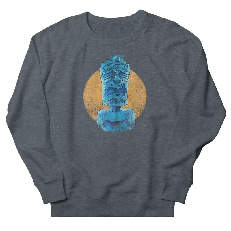 Luna Tiki Women's French Terry Sweatshirt by Zero Street's Artist Shop