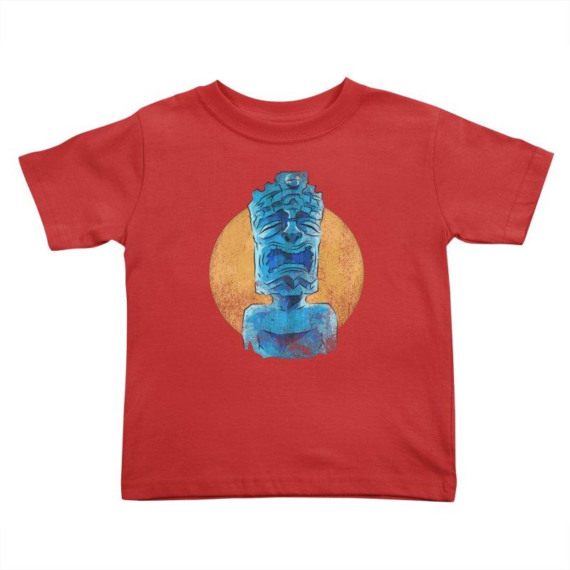 Luna Tiki Kids Toddler T-Shirt by Zero Street's Artist Shop
