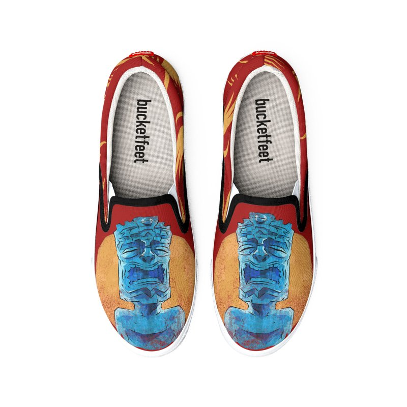 Luna Tiki Men's Shoes by Zerostreet's Artist Shop