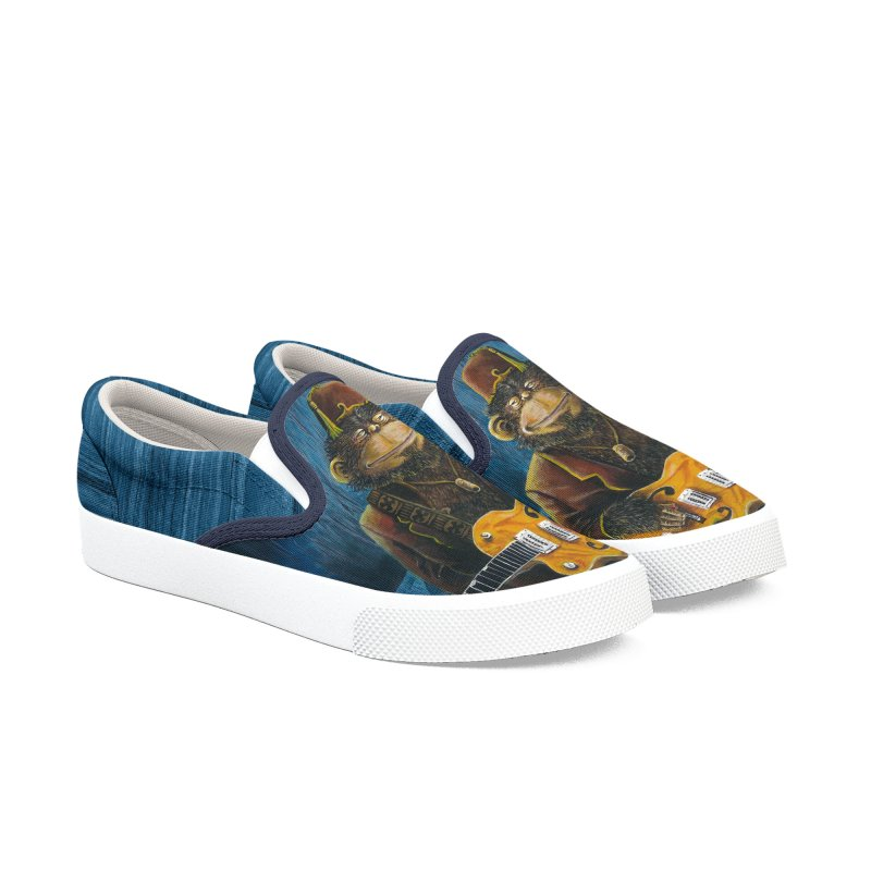 Dusty's Gig Women's Slip-On Shoes by Zerostreet's Artist Shop
