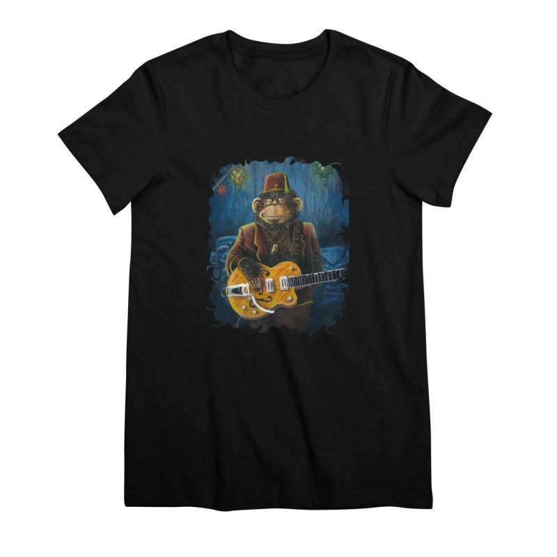 Dusty's Gig Women's Premium T-Shirt by Zero Street's Artist Shop