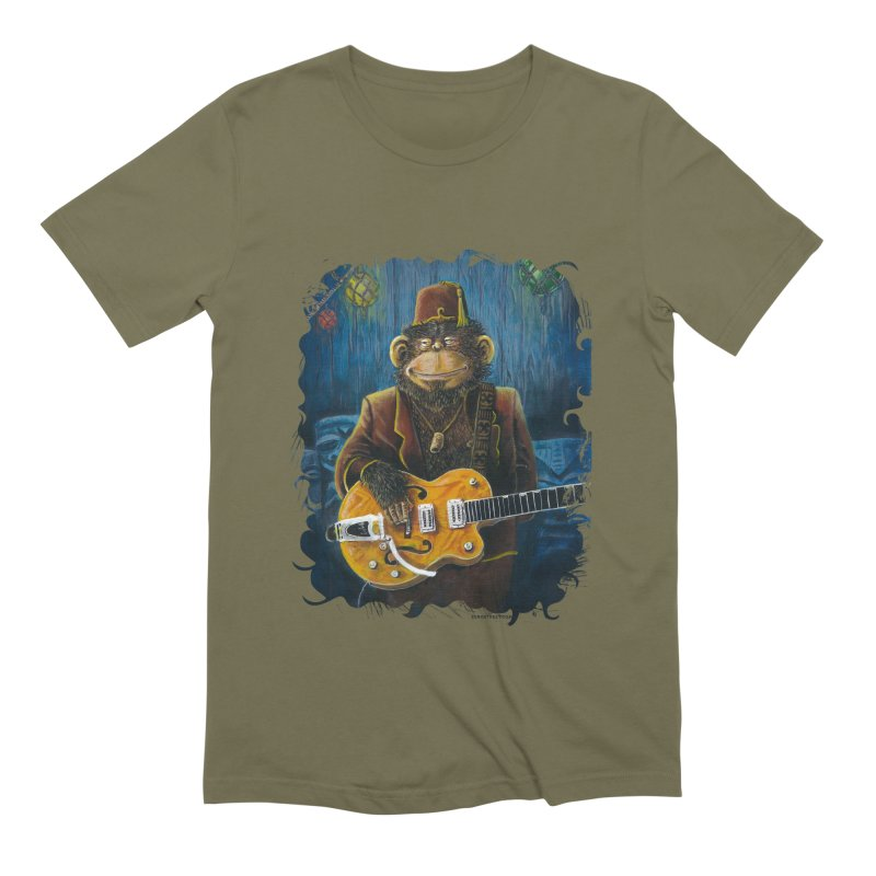 Dusty's Gig Men's Extra Soft T-Shirt by Zero Street's Artist Shop