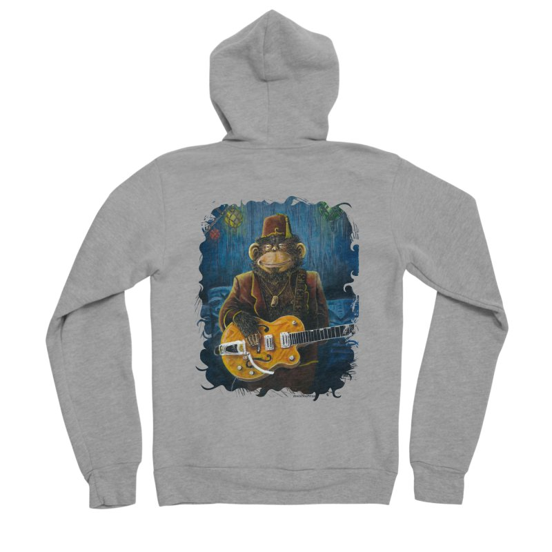 Dusty's Gig Women's Sponge Fleece Zip-Up Hoody by Zero Street's Artist Shop