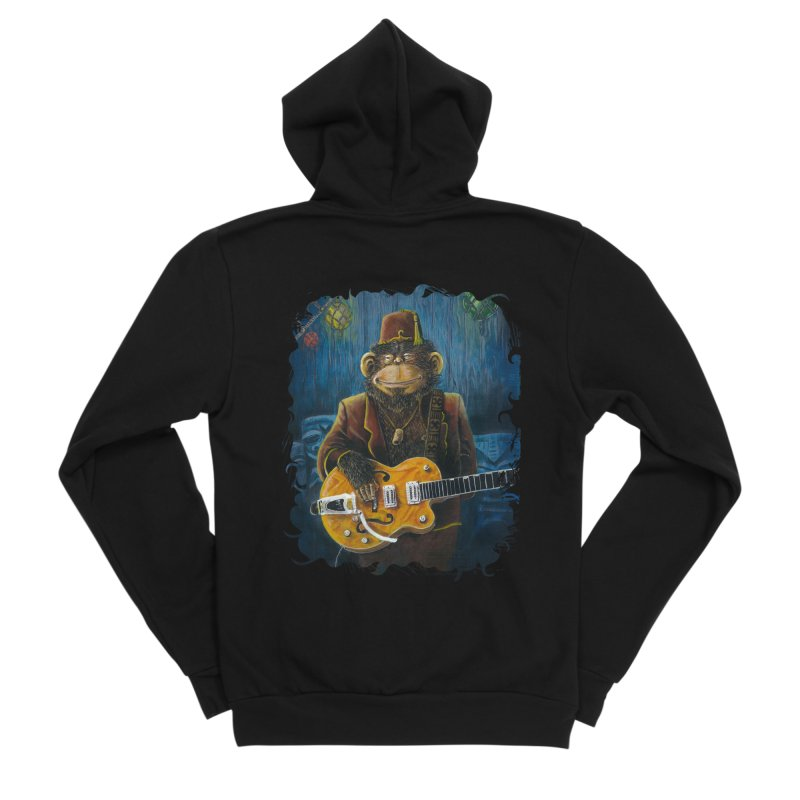 Dusty's Gig Men's Sponge Fleece Zip-Up Hoody by Zero Street's Artist Shop