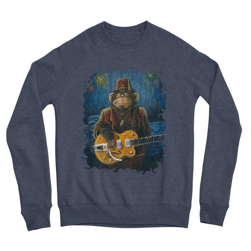 Dusty's Gig Men's Sponge Fleece Sweatshirt by Zero Street's Artist Shop