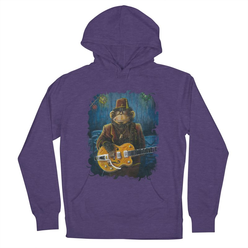 Dusty's Gig Women's French Terry Pullover Hoody by Zerostreet's Artist Shop
