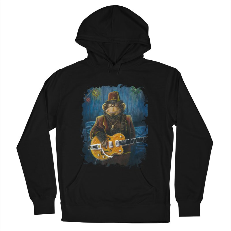 Dusty's Gig Women's French Terry Pullover Hoody by Zero Street's Artist Shop