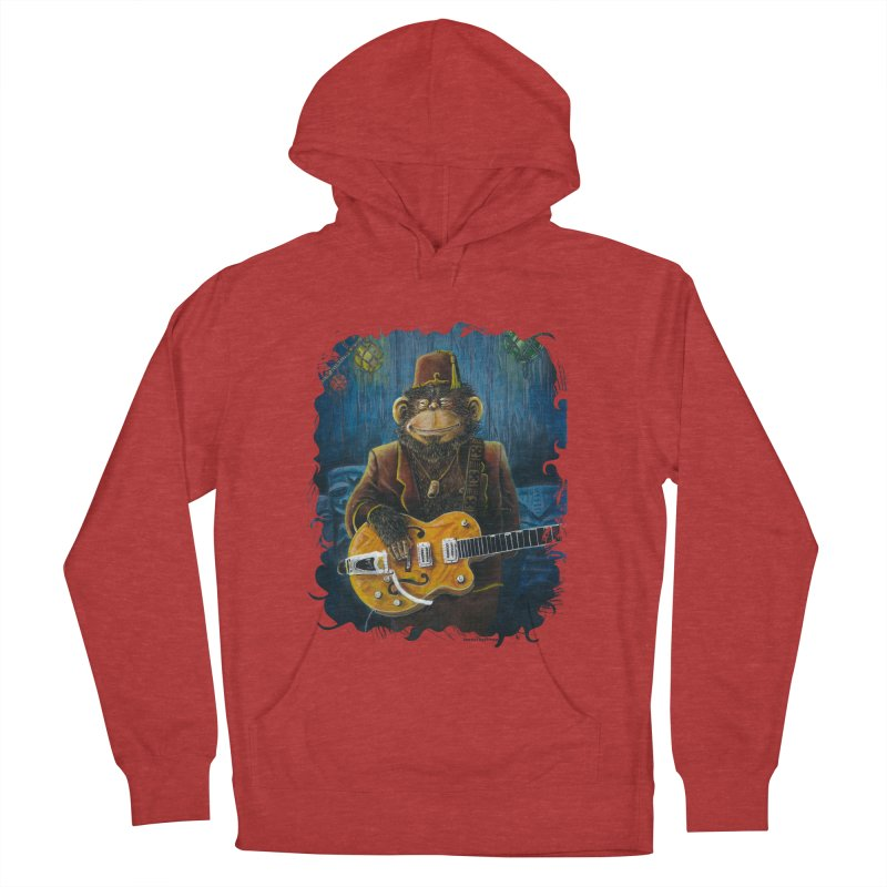 Dusty's Gig Men's French Terry Pullover Hoody by Zerostreet's Artist Shop