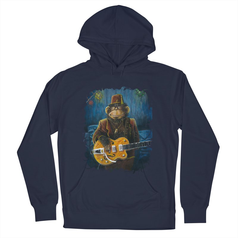 Dusty's Gig Men's French Terry Pullover Hoody by Zero Street's Artist Shop