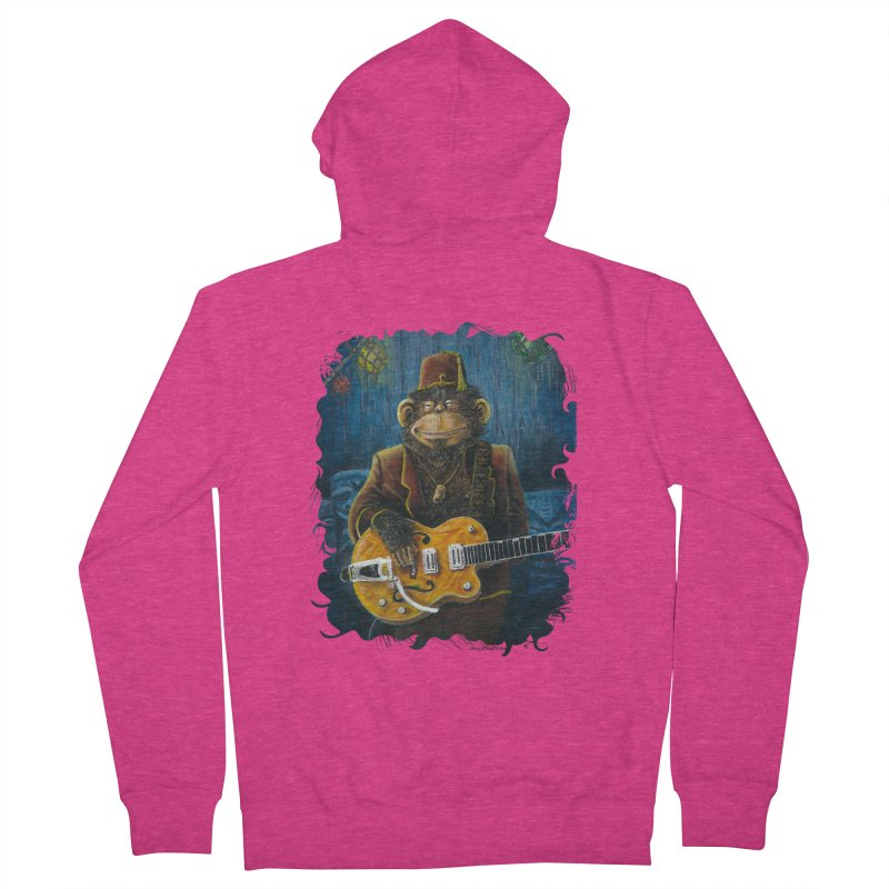 Dusty's Gig Women's French Terry Zip-Up Hoody by Zero Street's Artist Shop