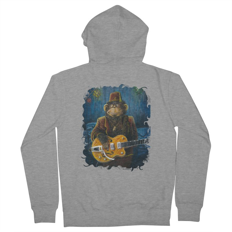 Dusty's Gig Men's French Terry Zip-Up Hoody by Zero Street's Artist Shop
