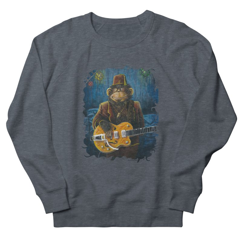 Dusty's Gig Women's French Terry Sweatshirt by Zerostreet's Artist Shop