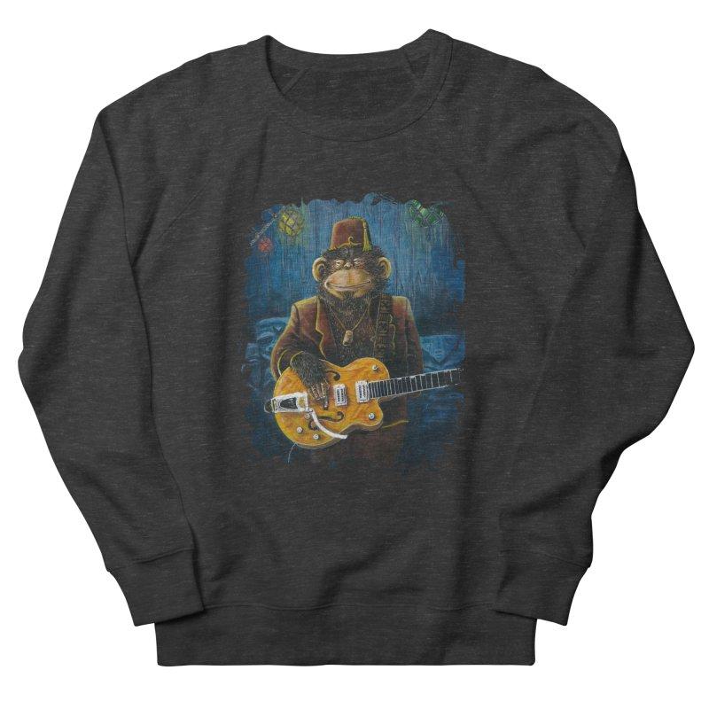 Dusty's Gig Men's French Terry Sweatshirt by Zerostreet's Artist Shop