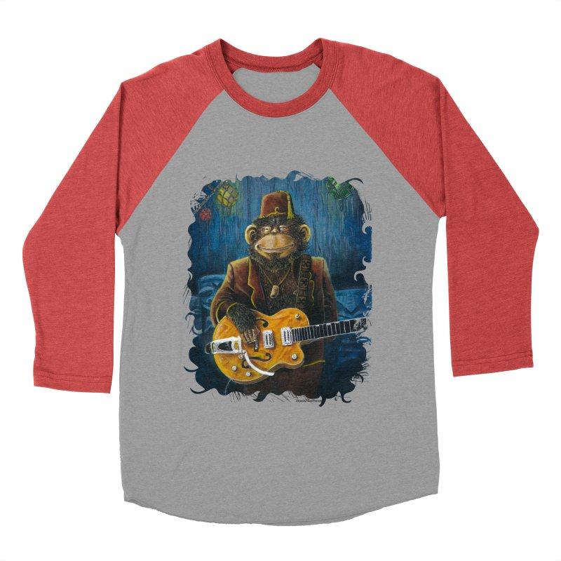 Dusty's Gig Men's Baseball Triblend Longsleeve T-Shirt by Zero Street's Artist Shop