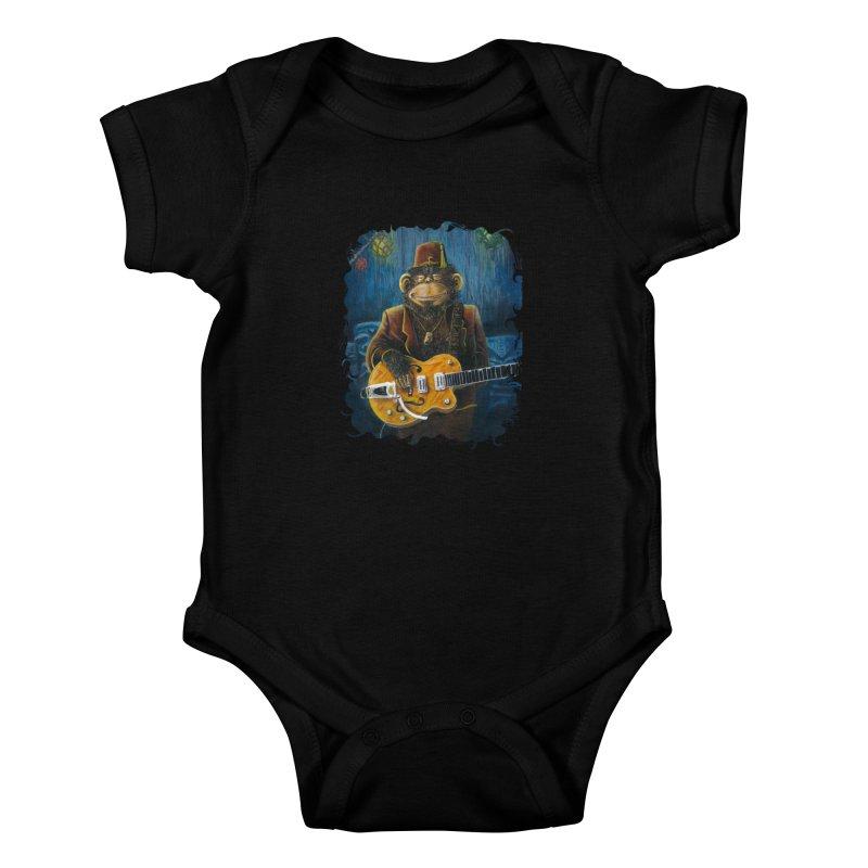 Dusty's Gig Kids Baby Bodysuit by Zerostreet's Artist Shop