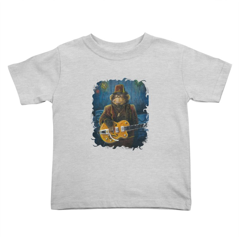 Dusty's Gig Kids Toddler T-Shirt by Zerostreet's Artist Shop