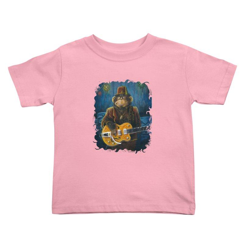Dusty's Gig Kids Toddler T-Shirt by Zero Street's Artist Shop
