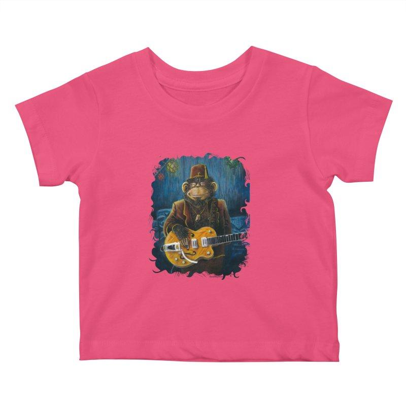 Dusty's Gig Kids Baby T-Shirt by Zerostreet's Artist Shop