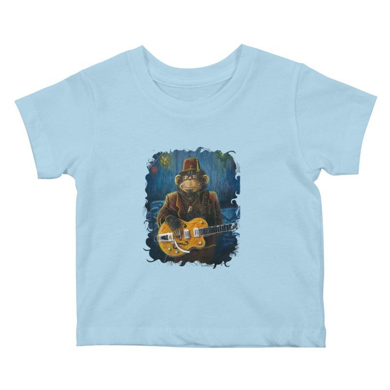 Dusty's Gig Kids Baby T-Shirt by Zero Street's Artist Shop