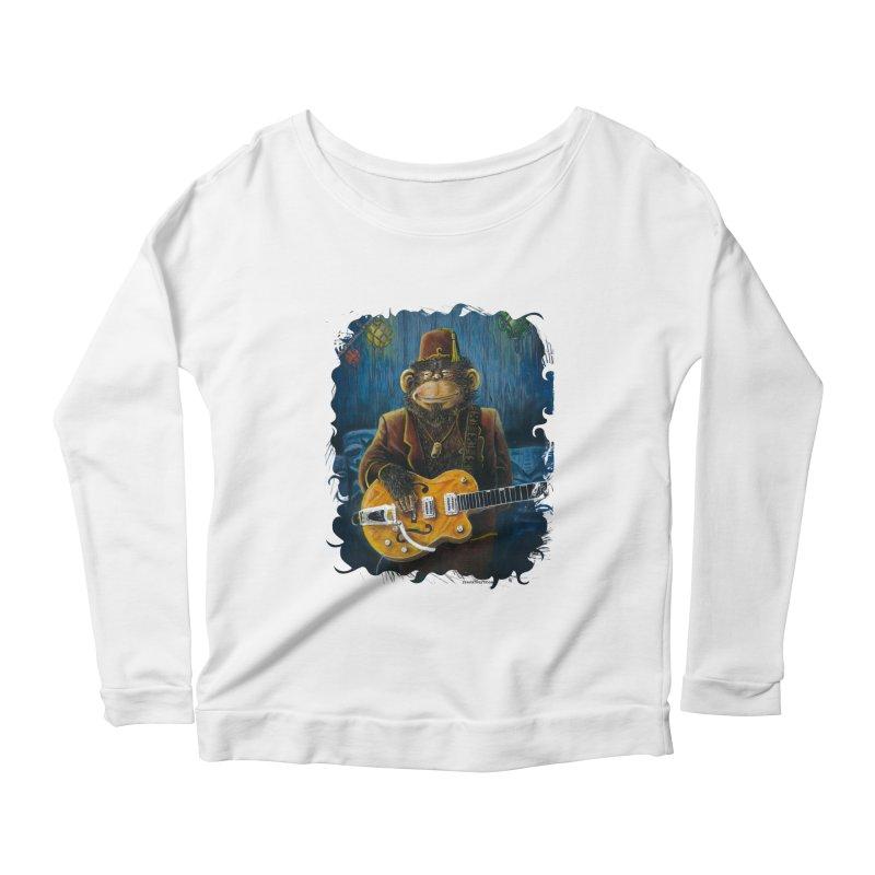 Dusty's Gig Women's Scoop Neck Longsleeve T-Shirt by Zero Street's Artist Shop