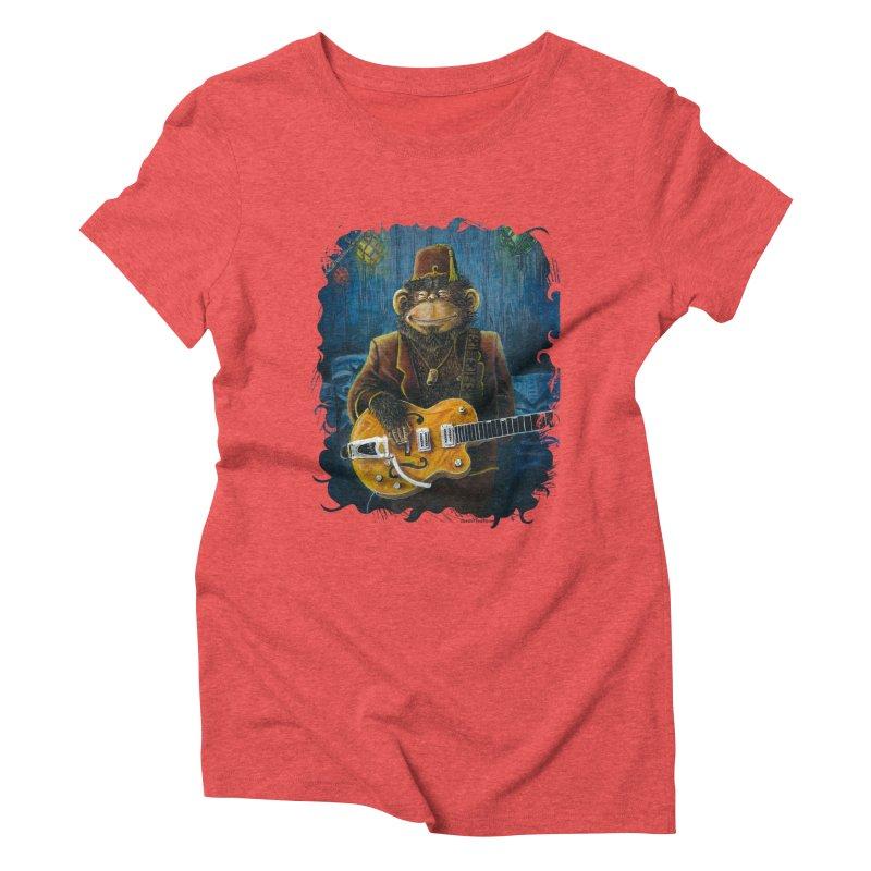 Dusty's Gig Women's Triblend T-Shirt by Zero Street's Artist Shop