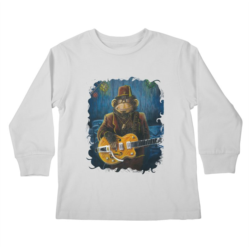 Dusty's Gig Kids Longsleeve T-Shirt by Zero Street's Artist Shop