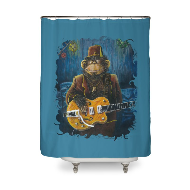 Dusty's Gig Home Shower Curtain by Zerostreet's Artist Shop