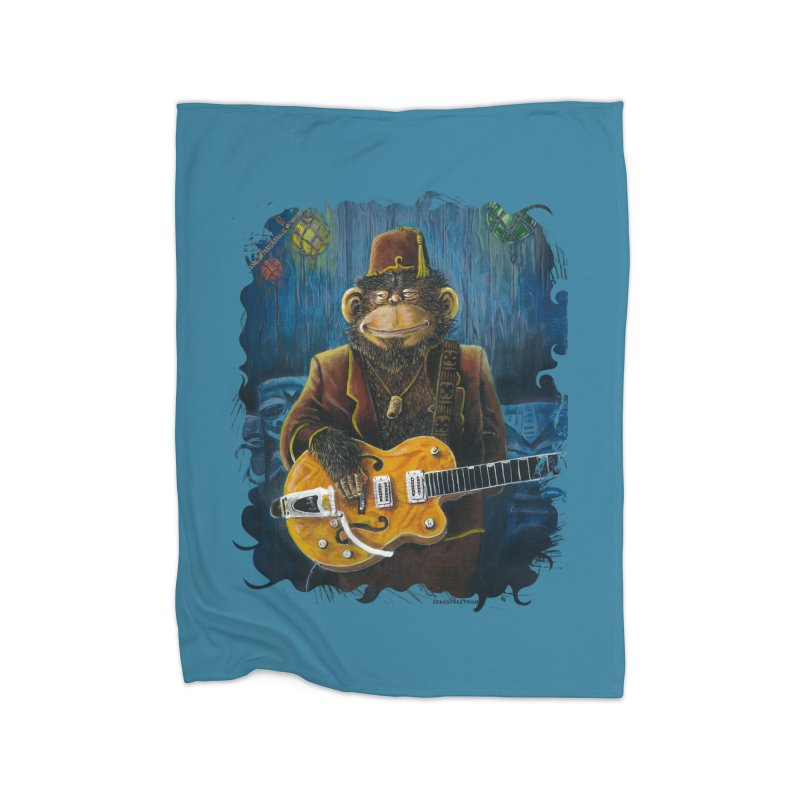 Dusty's Gig Home Blanket by Zerostreet's Artist Shop