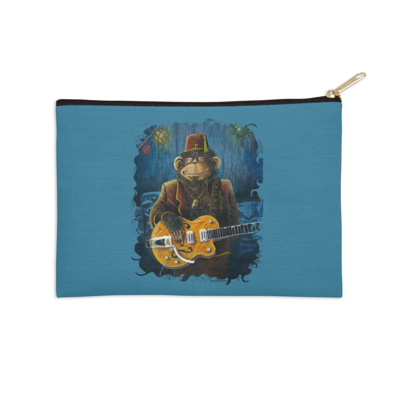 Dusty's Gig Accessories Zip Pouch by Zerostreet's Artist Shop